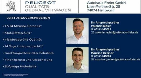 Peugeot Qualitäts Gebrauchtwagen vom AHF