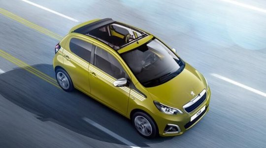 Peugeot 108 Collection Sondermodell mit Faltdach